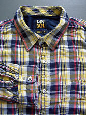 Lee Cotton Checked Casual Singlepack Shirts & Tops for Men