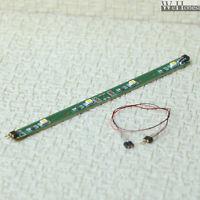 5 x 3V LED strips + Extension Kit connector passenger car interior lighting kits