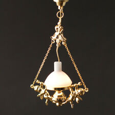 Hanging Cherub Oil Lamp 12v, Dolls House Miniature Light, Miniatures