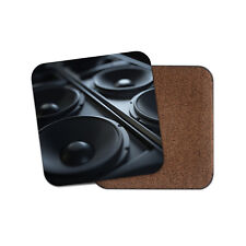 Awesome Speakers Coaster - Music DJ Sound System Dad Brother Son Fun Gift #14351