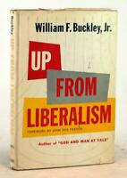 William F. Buckley 1st Ed 1959 Up From Liberalism Hardcover w/Dustjacket