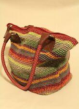 THE SAK Large Crocheted Shoulder Wo