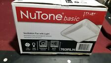 Nutone Basic Ventilation Fan With Light # 763Lrn Factory Sealed Box Never Opened