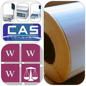 CAS Thermal Scale Labels - 58x60mm, 36 Rolls, 18,000 Labels