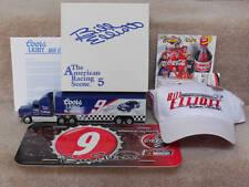 Bill Elliott #9 Winross ~Coors Light Transport ~Hat/Pin~Coke License Plate Lot