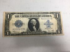SERIES 1923 $1 DOLLAR SILVER CERTIFICATE LARGE NOTE