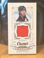 2008-09 Champs Mini Threads Jersey Simon Gagne