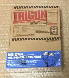 TRIGUN Badlands Rumble Blu-ray Disc  Limited Edition