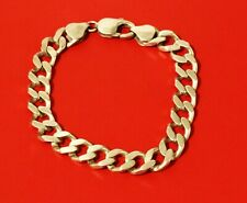 Sterling Silver Curb Chain  Bracelet 30 grams