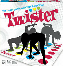 Twister Classic Game Family Fun Friends Party Game Xmas Gift 2 New Moves