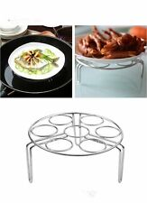 1X 3-Leg Stainless Steel Steam Rack Stand For Pressure Cooker Microwave Pot