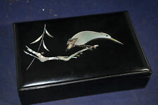 Mother of Pearl Lacquer Box