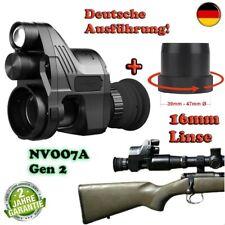 Nachtsichtgerät PARD NV007A Gen2 BRD-Edition 16mm Linse + Schn. Adapter + 2 Akku