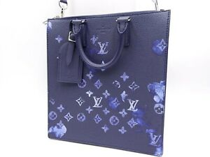 LOUIS VUITTON Monogram Water Color Sac Pla Messenger Shoulder Bag M57843 V-7001