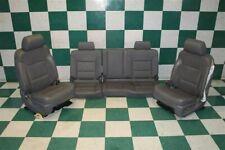 Dmg14 19 Sierra 1500 Crew Dark Ash Heat Cool Power Buckets Backseat Set Oem Fits Silverado 1500