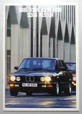 V24371 BMW SERIE 5 518i 520i 525i 528i 535i M535i - CATALOGUE - 02/87 - A4