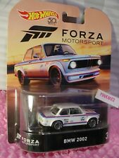 FORZA MOTORSPORT BMW 2002 #3/5☆white;Real Riders☆2018 Hot Wheels Retro 50TH ANNI