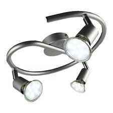 LED Deckenleuchte schwenkbar Inkl. 3 X 3W Leuchtmittel