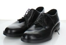 E37 NEW Men's Sz 10 M To Boot New York Leather Plain Toe Derby In Black