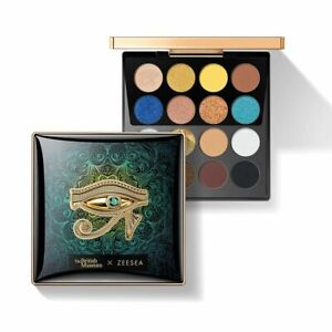 16 Colors Egypt Eyeshadow Palette Holographic Shiny Matte Glitter Pigment