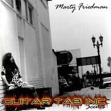 Marty Friedman Guitar Tab SCENES Lessons On Disc Megadeth Cacophony Jason Becker