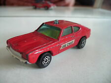 Corgi Juniors Ford Capri Fire Chief in Red