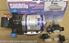 SHURFLO Trailking 12volt  45psi 10LPM / 4amps  (2095-403-444) & Wing Nut Filter
