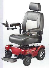 RED Merits Regal Rear Wheel Drive Powerbase Wheelchair Compact Size