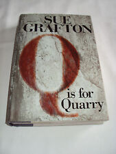 Q Is for Quarry by Sue Grafton ( 2002 Hardcover w Dust Cover) 1st Ed Very Good