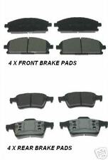 FOR NISSAN PRIMERA P12 2002 > FRONT & REAR BRAKE PADS NEW