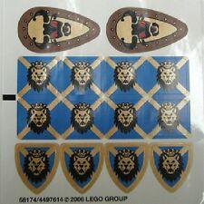 LEGO 10176 - Knights Kingdom - Royal King's Castle - STICKER SHEET