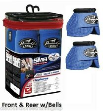 Professional's Choice VenTech ELITE Value PACK Medium M Royal Blue w/ Bell Boots