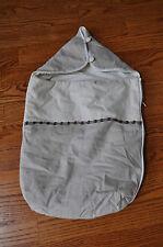 Unisex MARESE Beige W/Hoodie Sleeping Bag Size 3-6 Months MADE IN FRANCE!!
