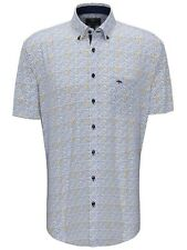 FYNCH HATTON® Superior Print Shirt/Citron - 2XL New SS20