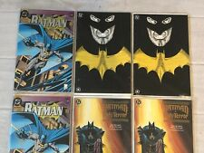 (6) 1991 DC COMICS BATMAN MASTER OF THE FUTURE  BATMAN KNIGHTFALL HOLY TERROR
