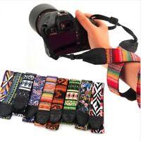 Retro Camera Shoulder Neck Strap For Nikon Single Shoulder Slings Strap Belts LJ