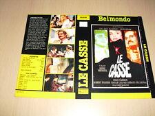 JAQUETTE VHS Le Casse Jean-Paul Belmondo Omar Sharif Henri Verneuil