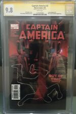 CAPTAIN AMERICA #2 CGC SS 9.8 SIGNED STEVE EPTING ~ WINTER SOLIDER ~