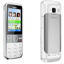 Nokia C5  C5-00 WHITE-SILVER   GARANZIA - LINGUA ITA - CONTRASSEGNO