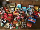 LARGE COLLECTION OF LUNDBY AND OTHER MAKES DOLLS HOUSE FURNITURE AND ACCESSORIES