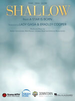 Shallow (from A Star Is Born) - Piano/Vocal/Guitar Sheet Music 287527
