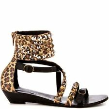Women's Synthetic Animal Print Sandals and Flip Flops