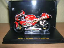 IXO JUNIOR Aprilia RSV250 RSV 250 Randy De Puniet #7 Season 2004 1:24 Motorcycle