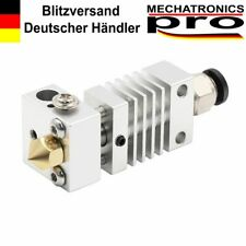 Silber All Metal Titanlegierung Hot End Kit CR-10 Ender 3d Drucker 1.75/0.4mm
