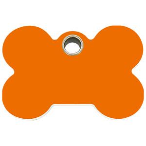 Red Dingo Dog ID, Pet Tag, Charm  FREE Personalized Engraved~ Plastic Bone