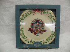 Lenox 1995 Annual Holiday Collector's Plate - Toy Store - with Box