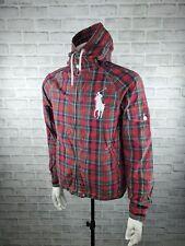 Polo Ralph Lauren Big Pony Swimwear Jacket Red Green Check & Plaid Size S