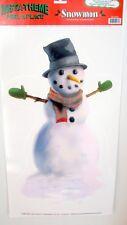 Snowman Insta Theme Peel 'N Place Sticker Christmas Decoration