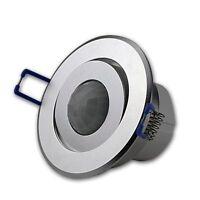 Präsenzmelder Bewegungsmelder Decken Einbau Sensor BWM Alu matt schwenkbar