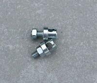 2 serre tringle pour garde boue L10.5 10,5 mm 10 mm vélo vintage ol ancien
